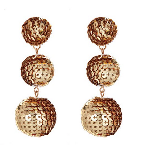 Golden Globes Earrings