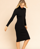 Nina Turtleneck Dress