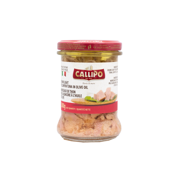 Callipo Chunky Light Yellowfin Tuna In Olive Oil
