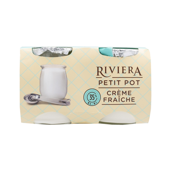 Riviera Petit Pot Cream (2 Pack)