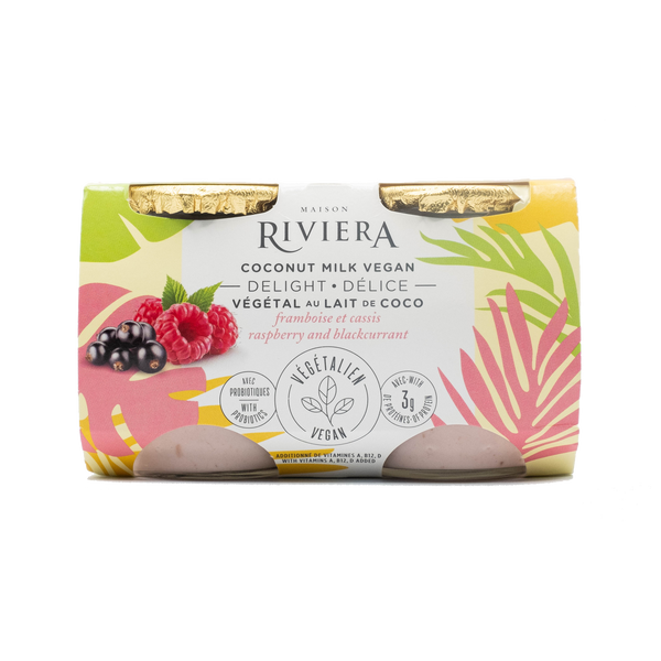 Riviera Raspberry and Black Currant (4 Pack)