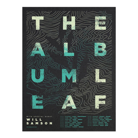 2016 EU Tour Poster - Screen Print