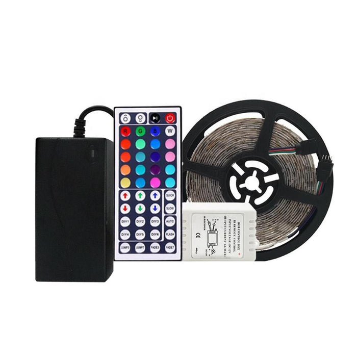 LED RGB Tape Light Kits 12V DC 16 ft Reel - Elumalight