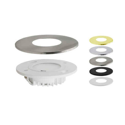 LED CCT Selectable Round Puck Lights - Elumalight