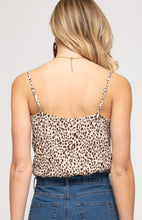 Load image into Gallery viewer, Leopard Camisole Bodysuit