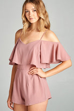 Load image into Gallery viewer, Soft Pink Romper