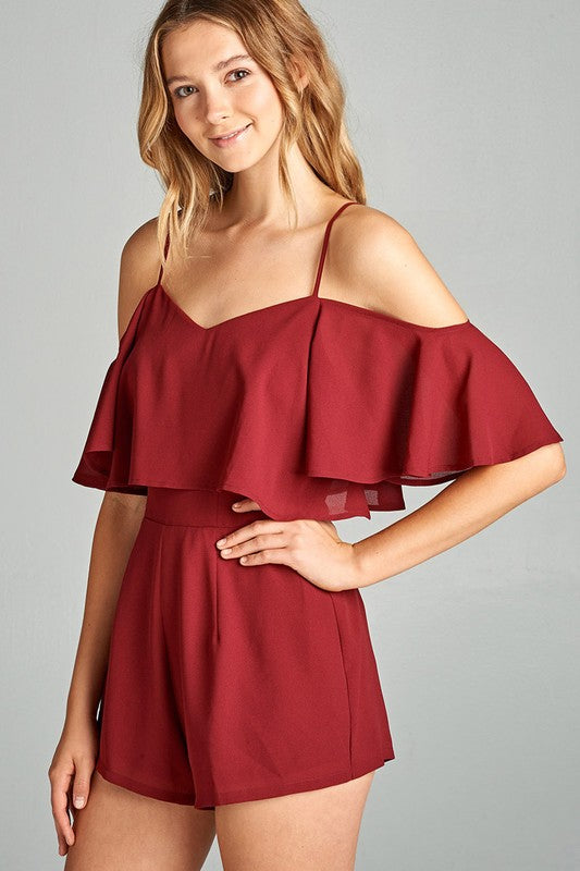 Ruby Red Romper
