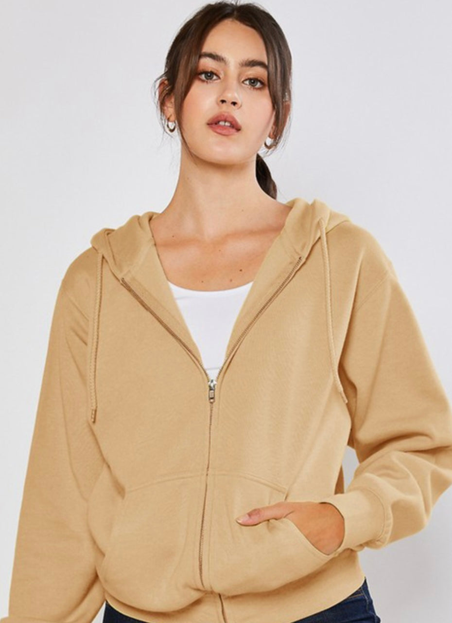 Soft Spot Boyfriend Jacket In Golden Tan