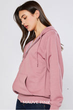 Load image into Gallery viewer, Soft Spot Boyfriend Jacket In Mauve Pink