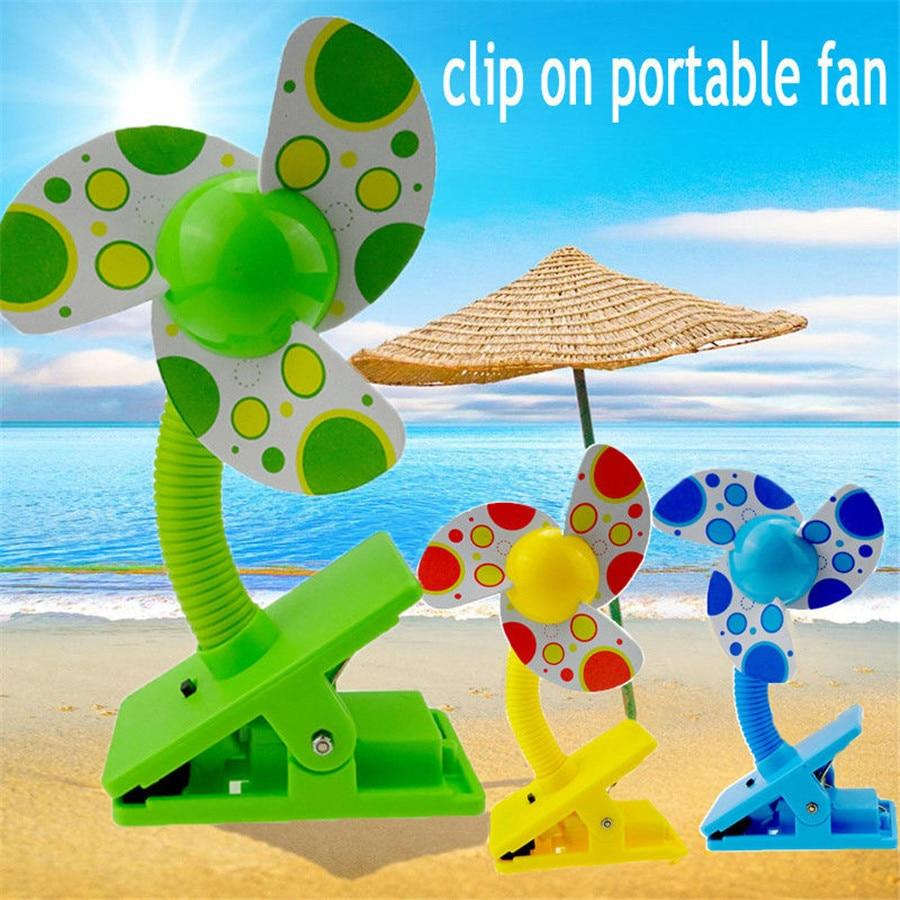 Summer Stroller Fan for Babies USB Fan - BAMBINELLI