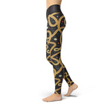 Beverly Gold Chains Leggings