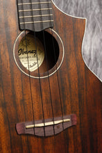 Load image into Gallery viewer, Ibanez UEW13MEE Acoustic Electric Cutaway Concert