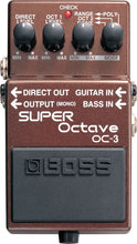 Load image into Gallery viewer, Boss OC-3 Super Octave - Mojo's Music