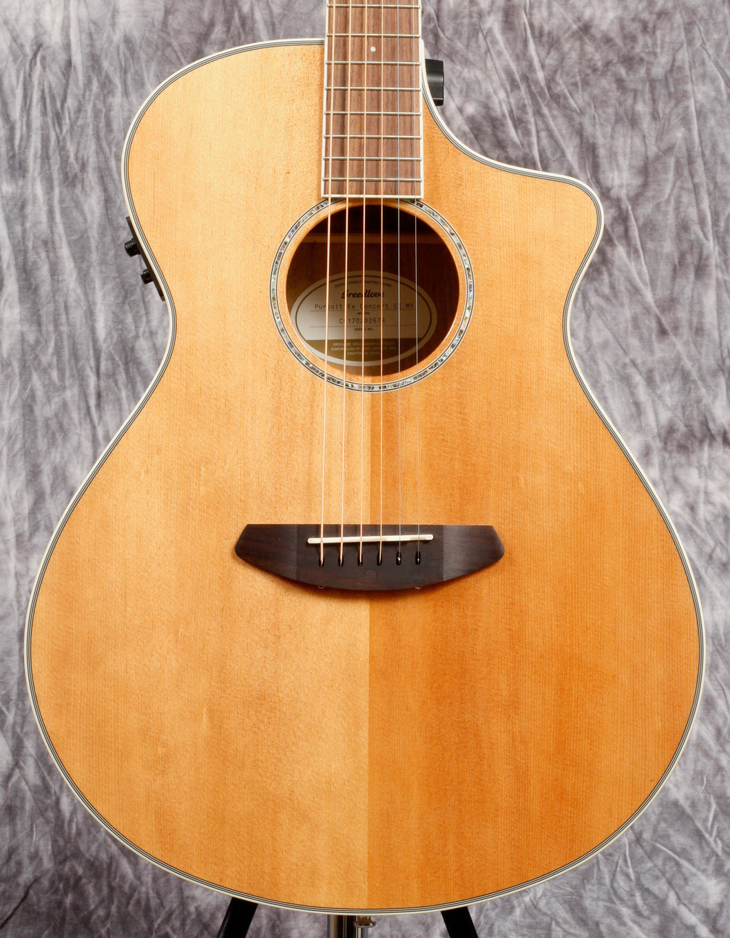 Breedlove Pursuit Exotic Concert CE Myrtlewood (Used)