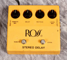 Load image into Gallery viewer, Ross Analog Stereo Delay (USED)