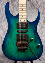 Load image into Gallery viewer, Ibanez RG Standard 6str Electric Guitar - Blue Moon Burst (DEMO)