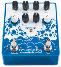 Load image into Gallery viewer, EarthQuaker Devices Avalanche Run Stereo Delay & Reverb with Tap Tempo V2 - Mojo's Music