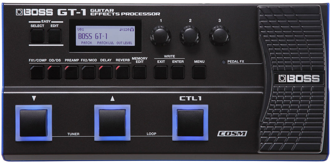 Boss GT-1 Guitar Effects Processor - Mojo's Music