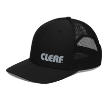Load image into Gallery viewer, Clerf Trucker Hat (Black)