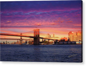 Open image in slideshow, Brooklyn Bridge - Acrylic Print