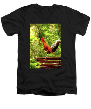 Open image in slideshow, Good Morning - Men's V-Neck T-Shirt