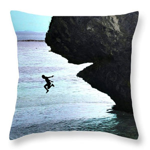 Open image in slideshow, Jumping In - Throw Pillow