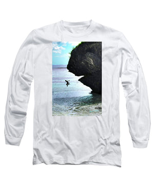 Open image in slideshow, Jumping In - Long Sleeve T-Shirt