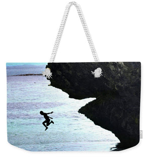 Open image in slideshow, Jumping In - Weekender Tote Bag