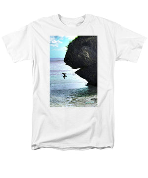 Open image in slideshow, Jumping In - Men's T-Shirt  (Regular Fit)