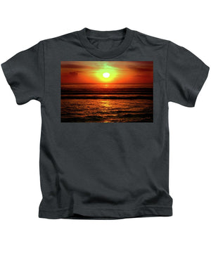 Open image in slideshow, Red Sunset - Kids T-Shirt