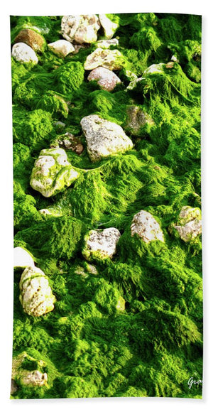 Open image in slideshow, Seaweed and Sunshine - Bath Towel