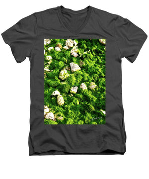 Open image in slideshow, Seaweed and Sunshine - Men's V-Neck T-Shirt