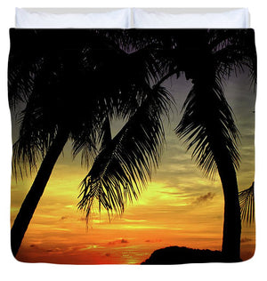 Open image in slideshow, Sunsets of Guam - Duvet Cover