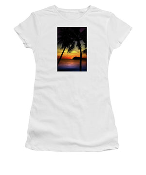 Open image in slideshow, Sunsets of Guam - Women's T-Shirt