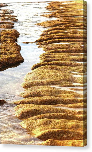 Open image in slideshow, Textured Sand - Canvas Print