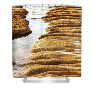 Open image in slideshow, Textured Sand - Shower Curtain