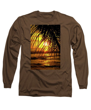 Open image in slideshow, Through the Palm - Long Sleeve T-Shirt