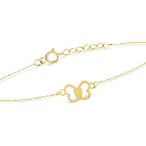 Load image into Gallery viewer, Butterfly Gold Bracelet