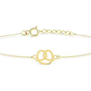 Load image into Gallery viewer, Pretzel Gold Bracelet