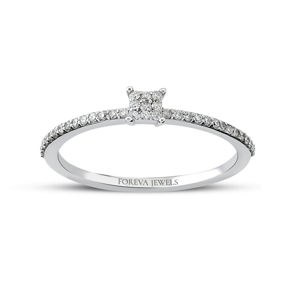 Load image into Gallery viewer, Minimalist Stringed Baguette Diamond 0.16 Carat