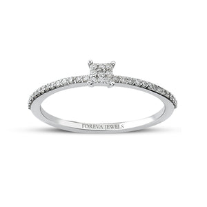 Minimalist Stringed Baguette Diamond 0.16 Carat