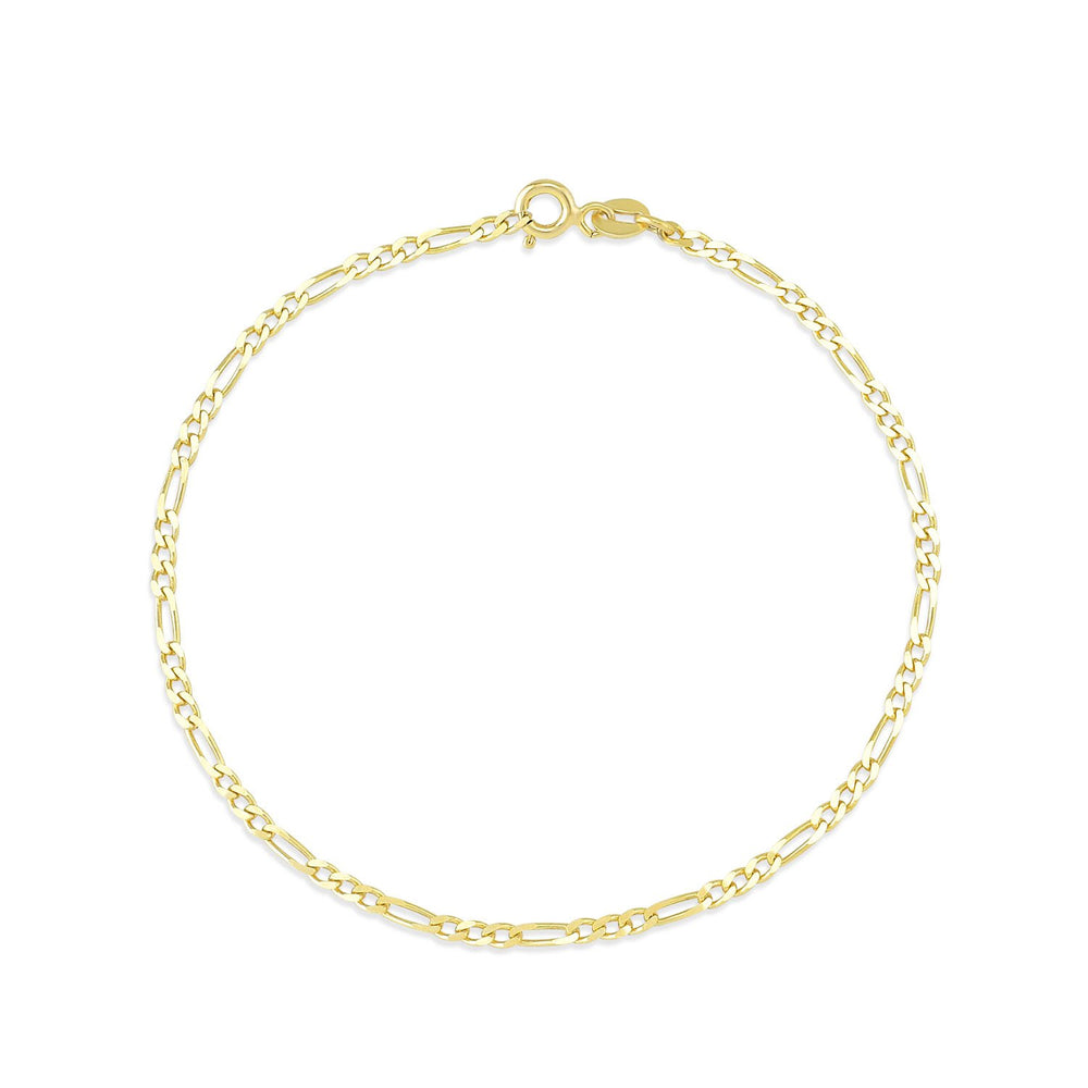 Auger Ring Gold Plated 925K Silver Bracelet