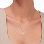 Petite Shell 14K Gold Pendant Necklace