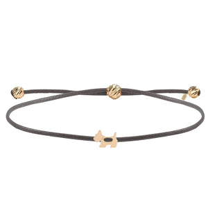 Load image into Gallery viewer, Minimalist Cute Cross Design Gold Plated 925K Silver Bracelet