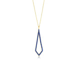 Tie Gold Plated 925K Silver Necklace