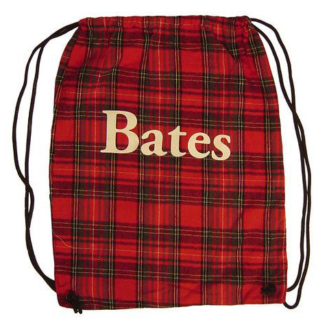 Plaid Flannel Back-Sack Bag (3 Color Combinations) - Bags