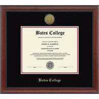 23 Karat Edition Diploma Frame in Signature (Black/Crimson)