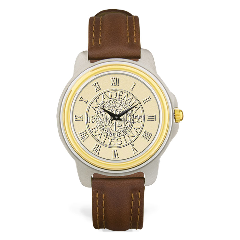 Two Tone Gold Face Men's Watch
