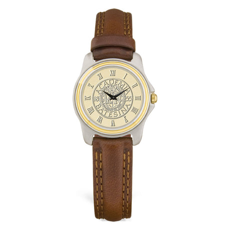 Two Tone Gold Face Women's Watch