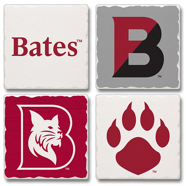 Assorted Bates Stone Coasters